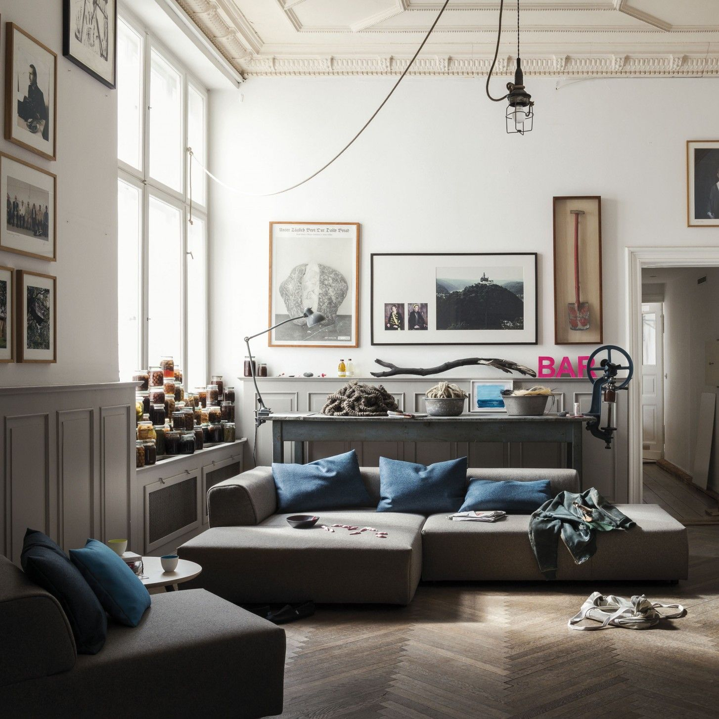 Rolf Benz - freistil 184 Lounge-Sofa im ikarus…design shop | Divani ...