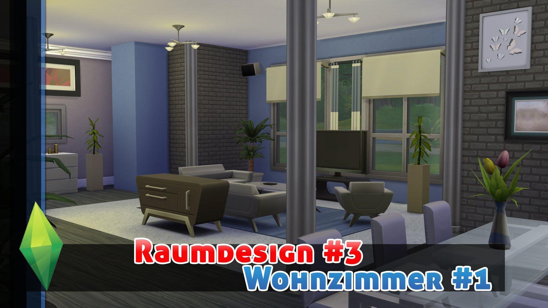 Wandgestaltung Wohnzimmer Stein Schwebende Regale Leuchten ...