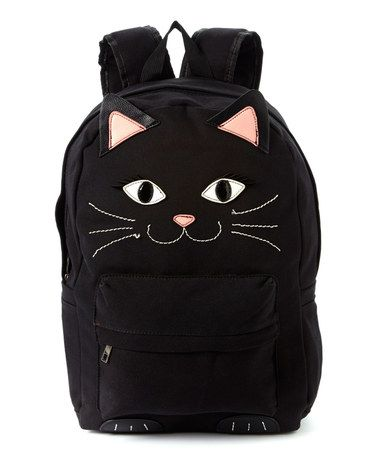 Another great find on #zulily! Black Cat Backpack #zulilyfinds
