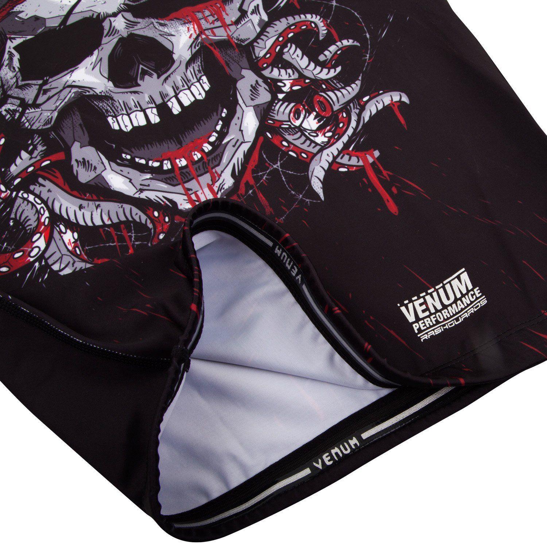 Venum Pirate 3.0 rashguard Long Sleeves M Black/Red Medium