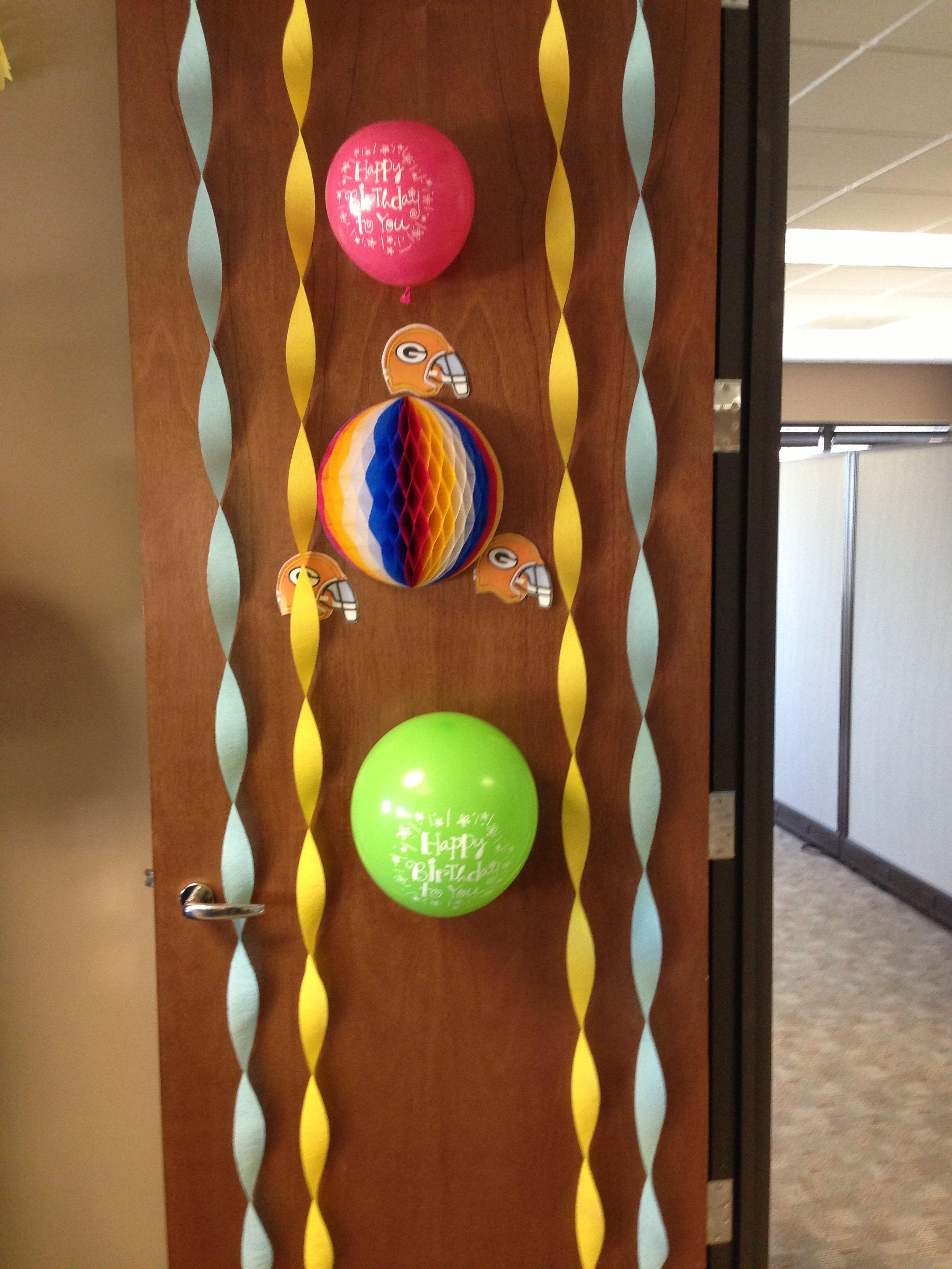 Office Door Birthday Decorations Door Decorations Birthday Decorations Office Door