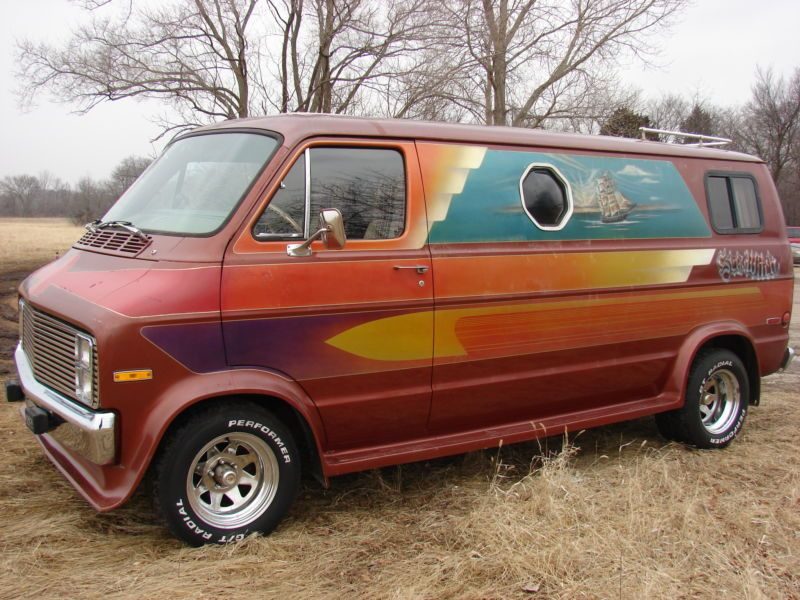 1977 Dodge Van | 1977 Dodge B200 Van 318/Automatic - SEA