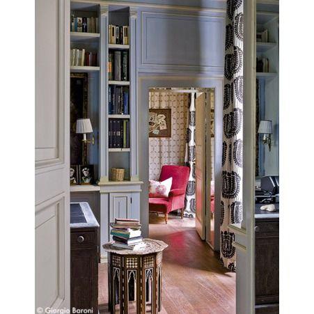 Idarica\'s Gazzoni\'s home office in Milan / Elle Decoration France ...