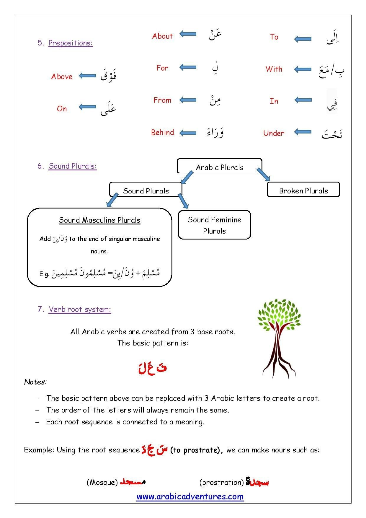 5 Linear Prepositional Phrases Worksheet Di