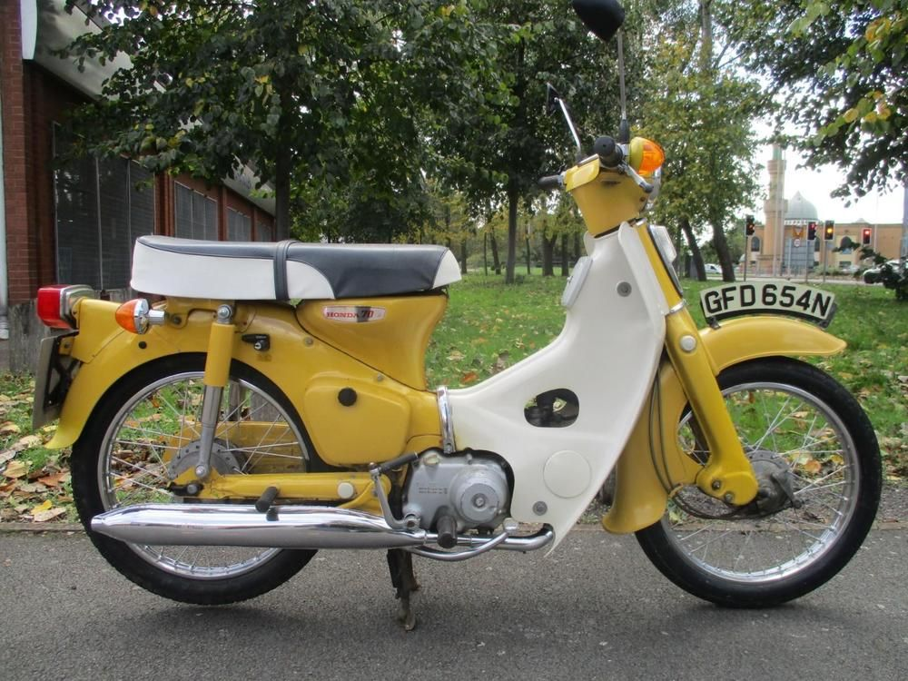 Honda C70 C 70 1974 1 Owner From New 4k Miles Original Bill Of Sale P X Welcome