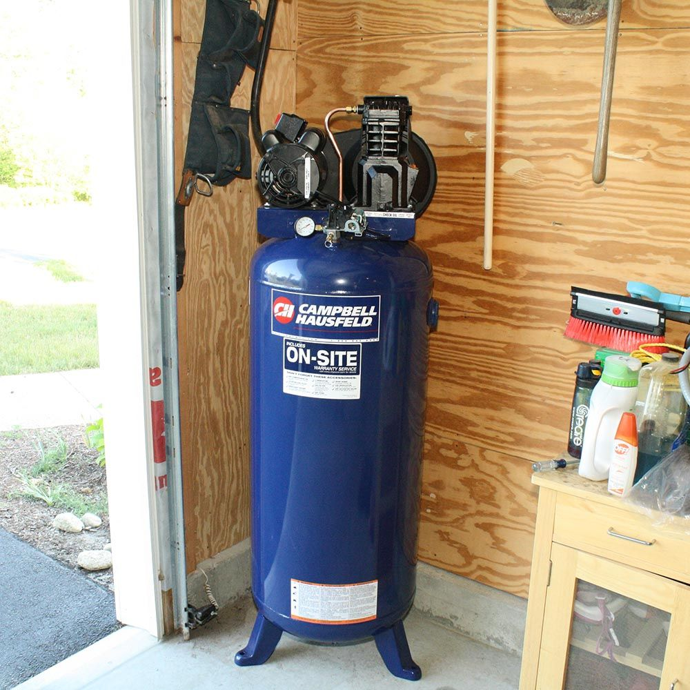 Compressed Air for Garage and Woodworking