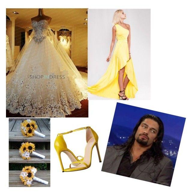 """Joe and Mariana's wedding"" by zaria5sod ❤ liked on Polyvore"