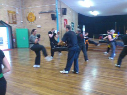 Penrith (RBSD) Reality Based Self Defence  http://www.pfsd,net    Combat Kickboxing