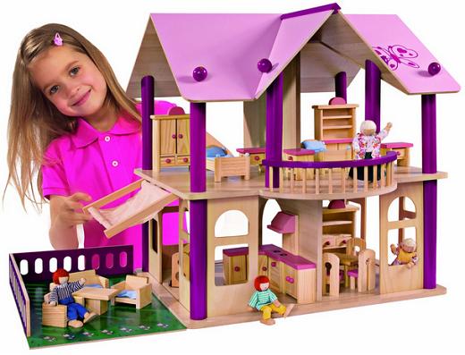 Casitas de mu ecas modernas buscar con google madera - Cosas para la casa de barbie ...