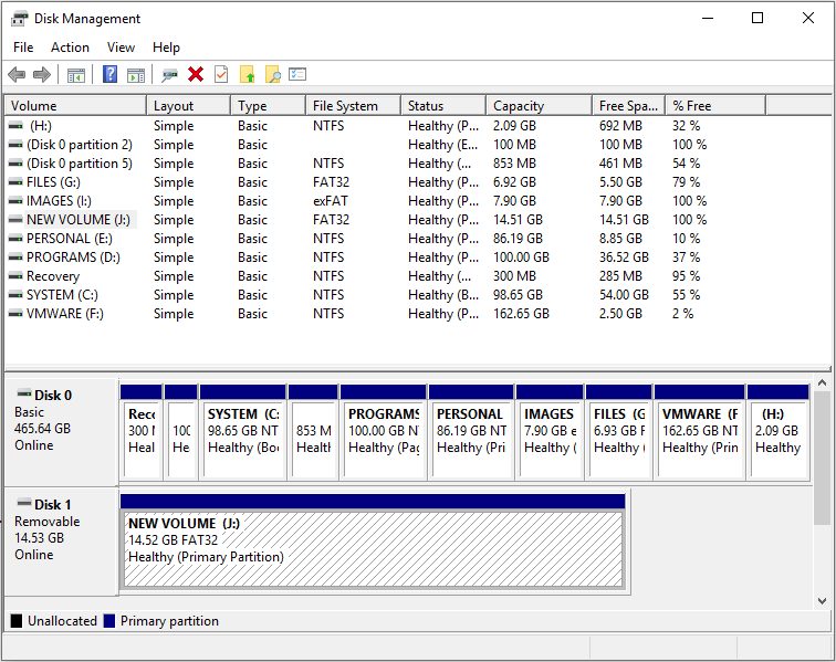 3 Quick Fixes To Change Exfat To Fat32 File System Windows 10 Filing System Extended Partition System