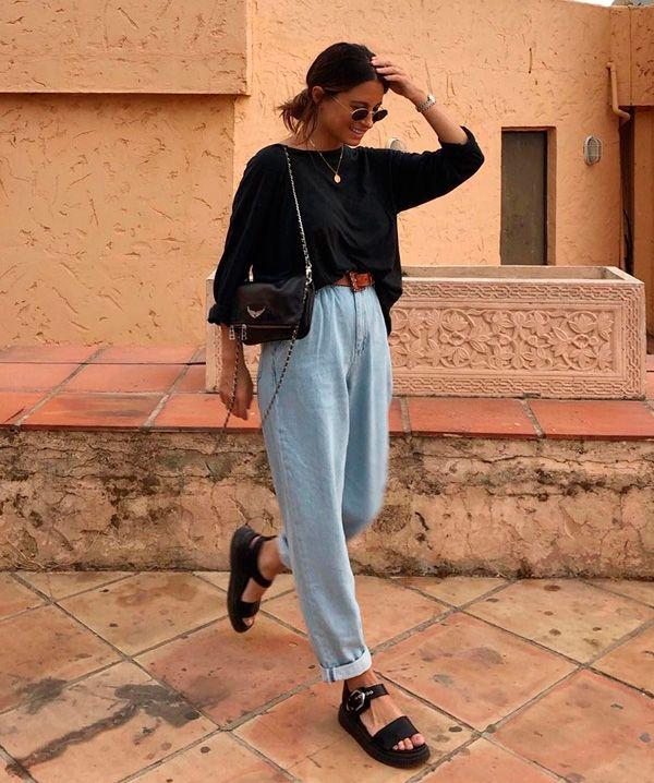 O mom jeans evoluiu » STEAL THE LOOK