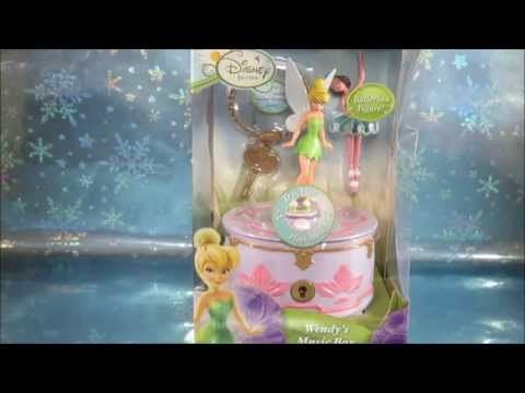 Disney Fairies Wendys Musical Jewelry Box with Tinker Bell and