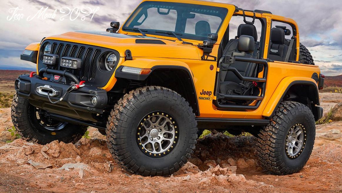 Jeep Moab 2021 Redesign And Review In 2020 Jeep Concept Dream Cars Jeep Easter Jeep Safari