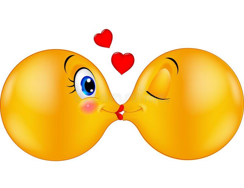 смайлики с поцелуями картинки кайл