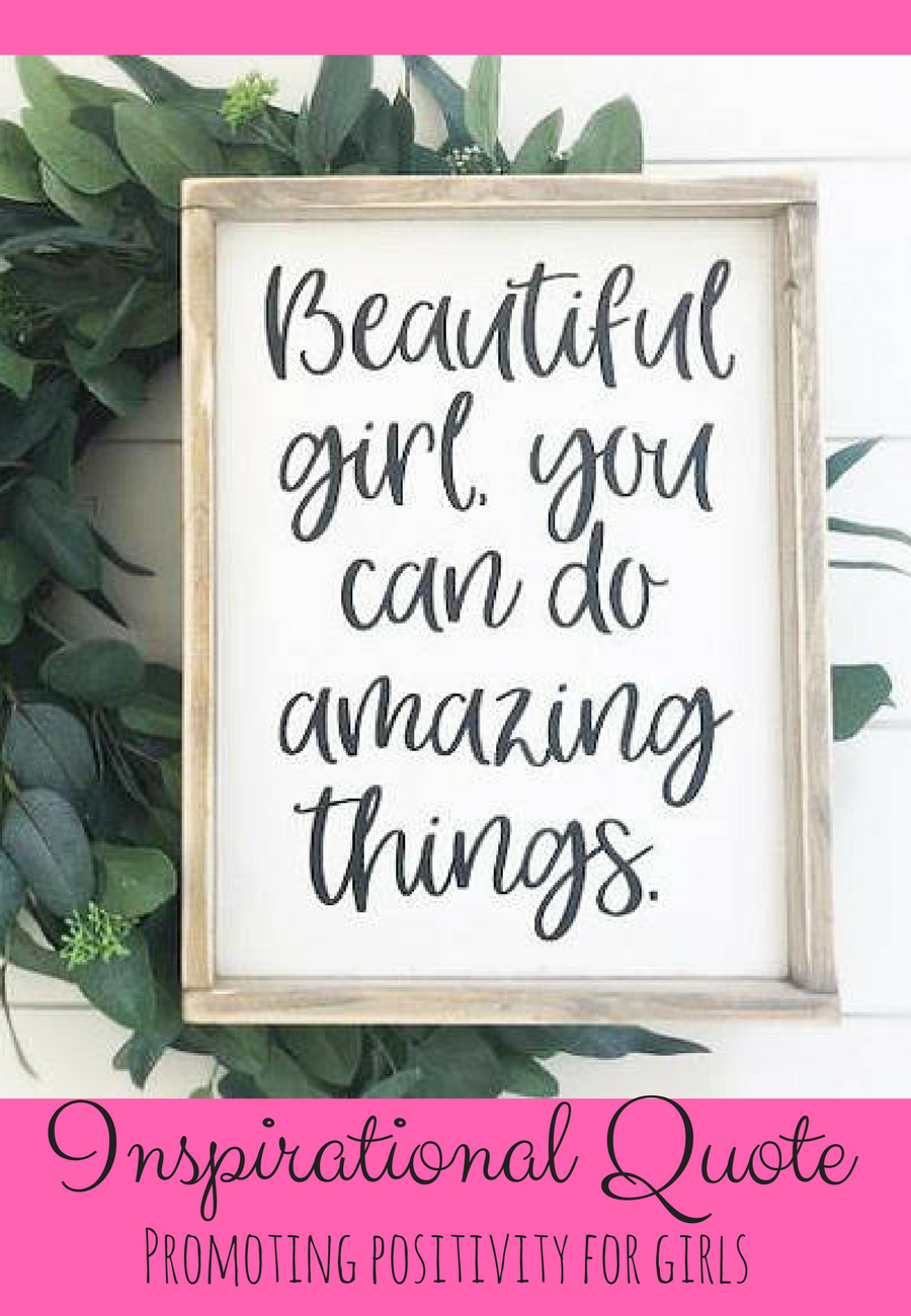 Motivational Quotes For Young Students: Love This Inspirational Quote For A Young Girls Bedroom