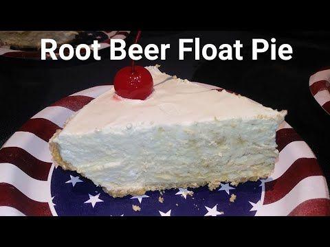 Root Beer Float Pie! (No Bake!)