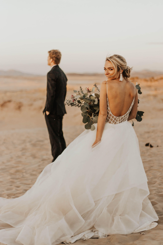 Beach wedding looks  Boho First Looks Bridals Terra Ong Photography Boho wedding boho