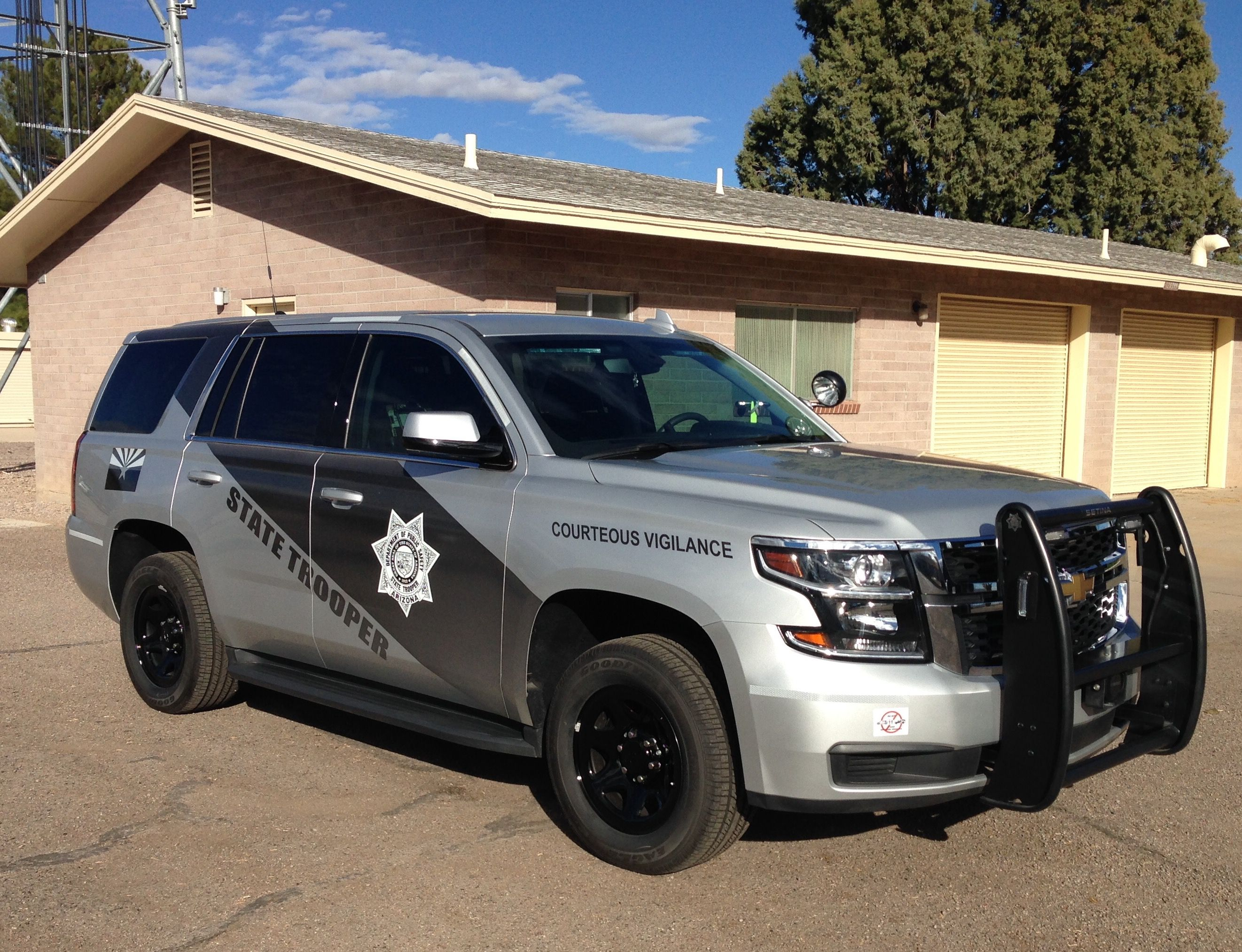 Arizona Dept. of Public Safety State Trooper Chevy Tahoe