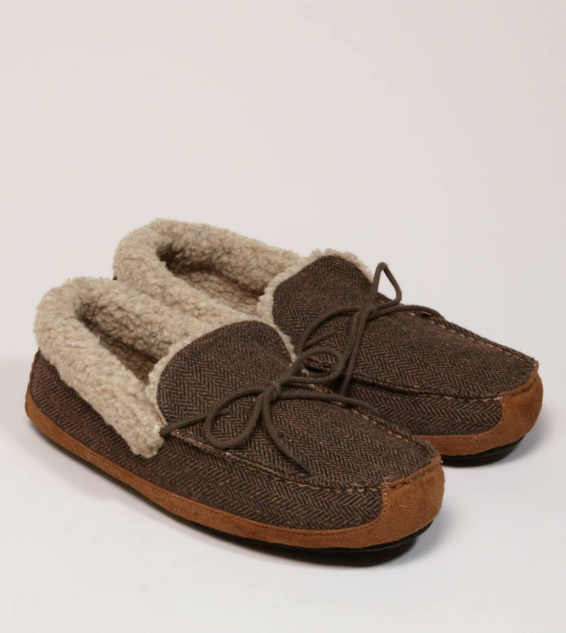 AEO Suede Moccasin- for boys!