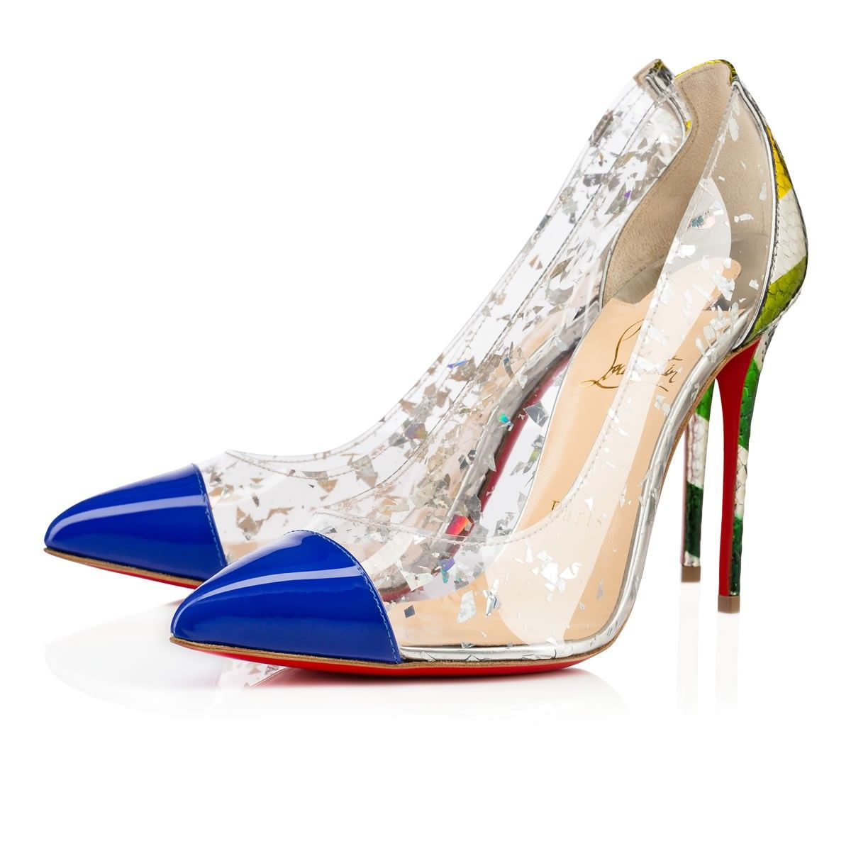 be06ada8b56 CHRISTIAN LOUBOUTIN Debout Patent/Pvc , Electric, Python, Women ...