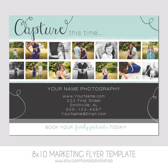 Modern Photography Flyer - Photography Template - Film Strip - photography flyer