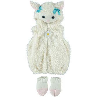Baby Lamb Bubble Costume