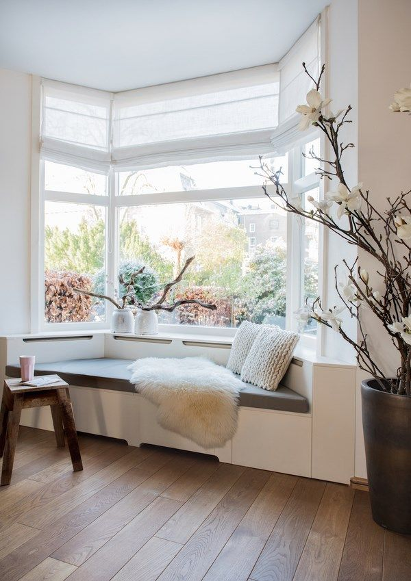 Bay Window Seat Ideas Small Bay Window Blinds Bay Window Decorating Ideas Home Decor Bedroom House Interior Bay Window Living Room