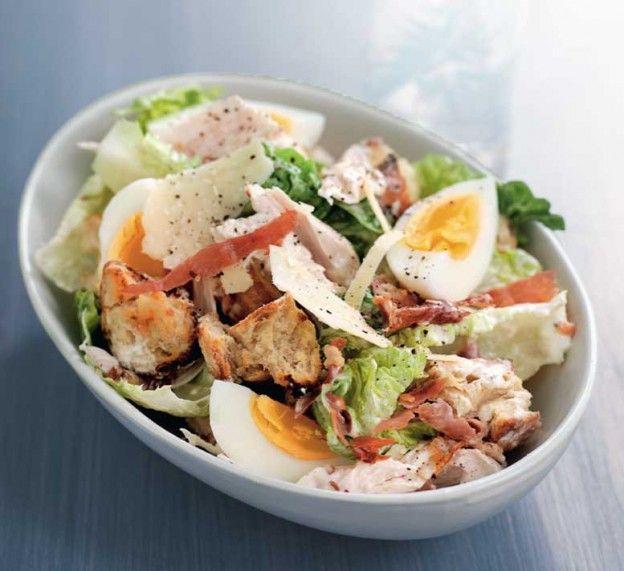 Receta baja en calor as ensalada c sar www - Comidas sanas y bajas en calorias ...