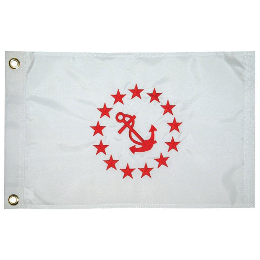"PAST COMMODORE YACHT CLUB FLAG 12/"" x 18/"""