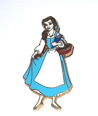Disney Pin Beauty Beast Belle Character Library Book Basket