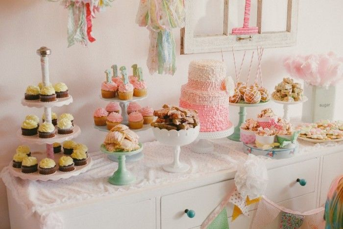 Simply Sweet Full Of Pink Birthday Party Desserts Party
