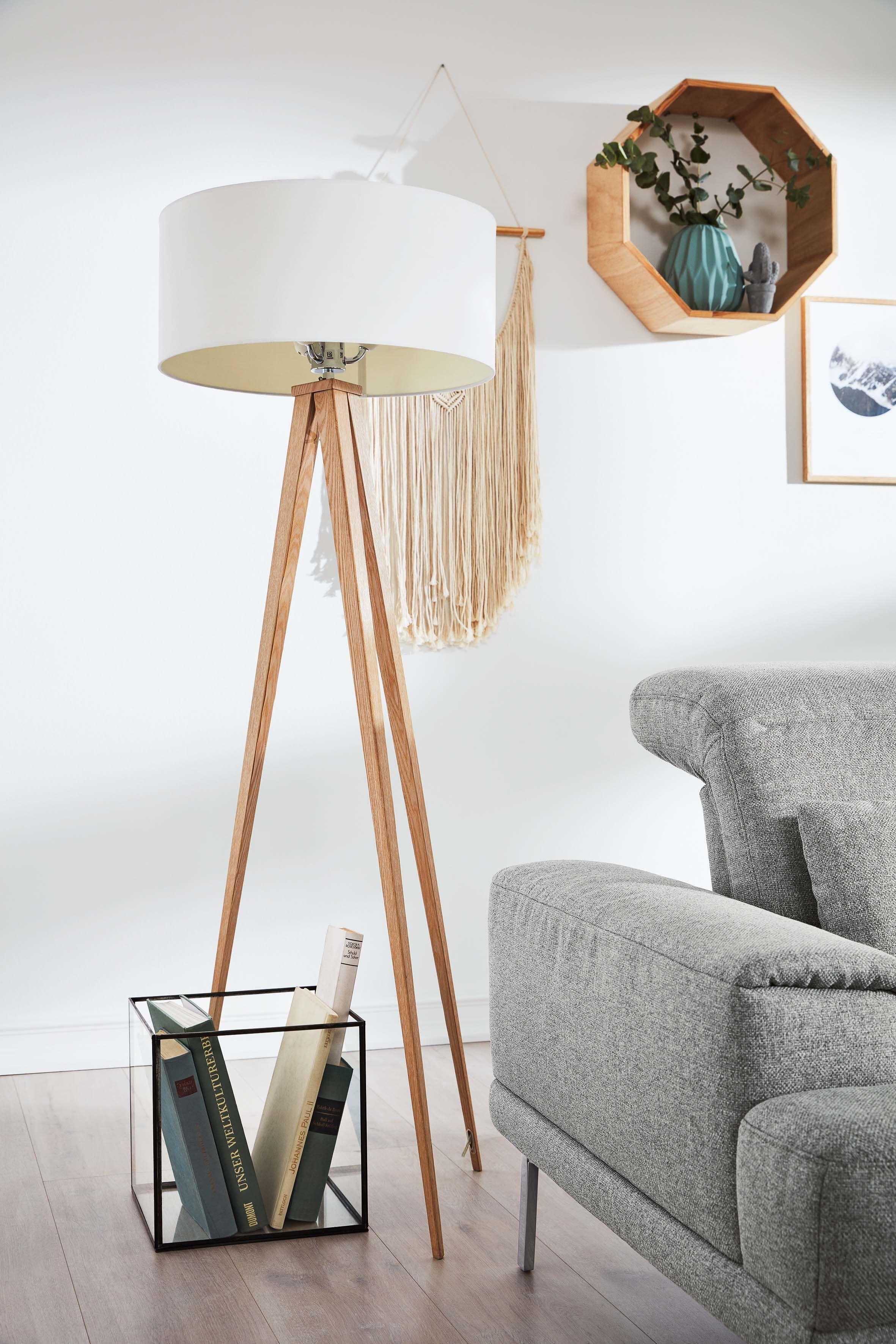 Skandinavisches Wohnzimmer in 7  Lampen wohnzimmer, Stehlampe