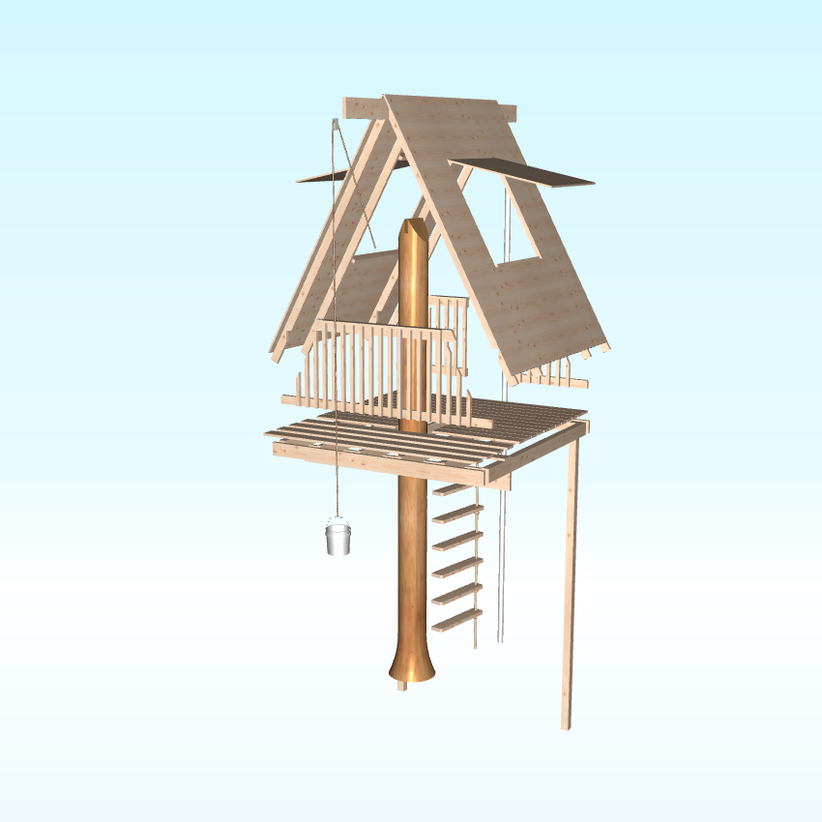 Kids Tree House Plans Designs Free a-frame tree house woodworking plantobacco road guitars | camp
