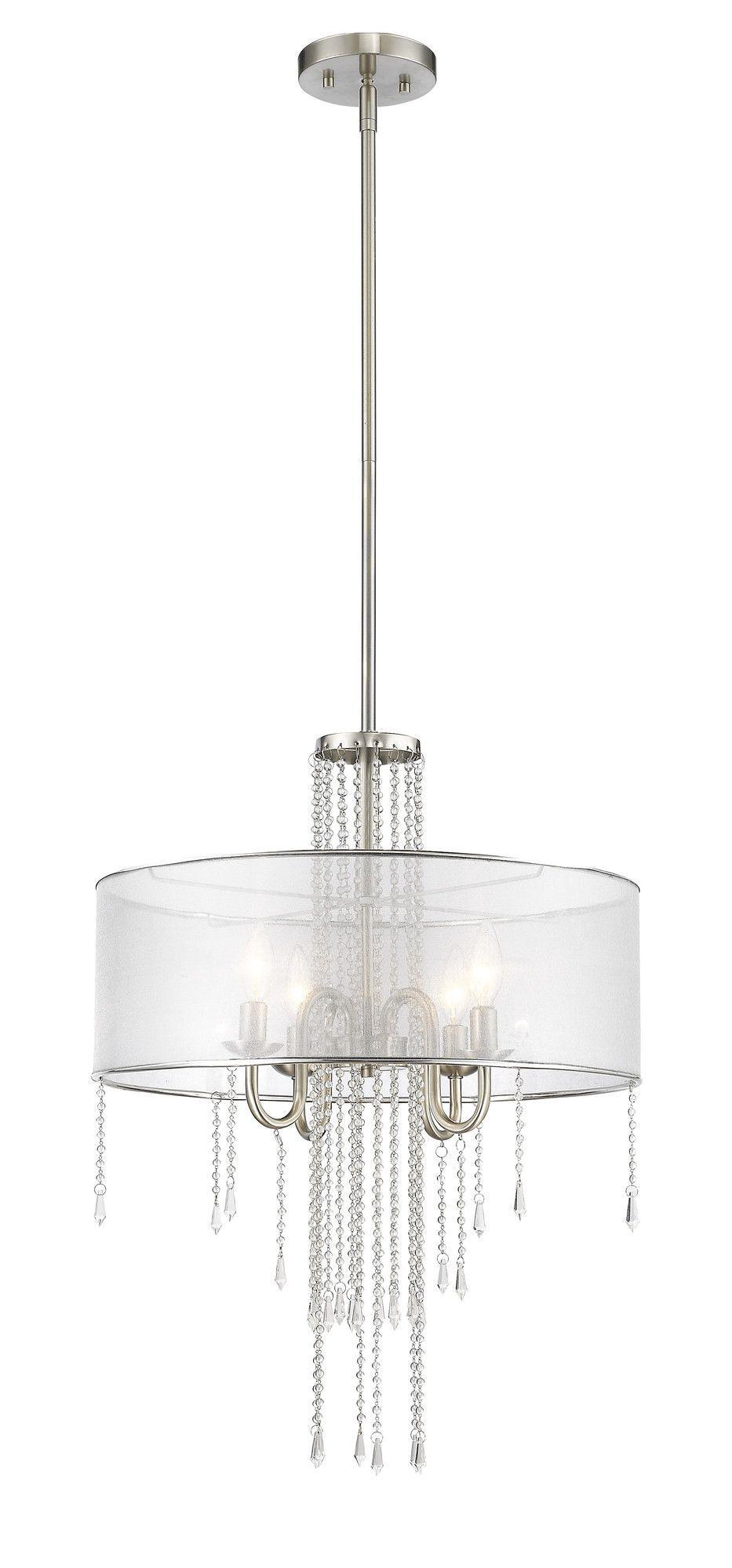 Siena 4 Light Crystal Chandelier