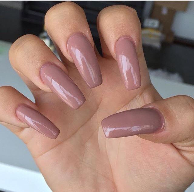 Mauve/nude | Nails | Pinterest | Mauve, Nail inspo and Nail nail