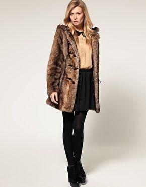 ASOS FAUX FUR COAT | TREASURE CHEST | Pinterest | Fur coat, Fur ...