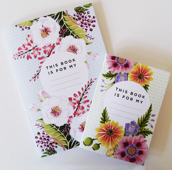 FloralNotes Part of the Summer Blooms Collection by Charlotte Day and Jack Hughes