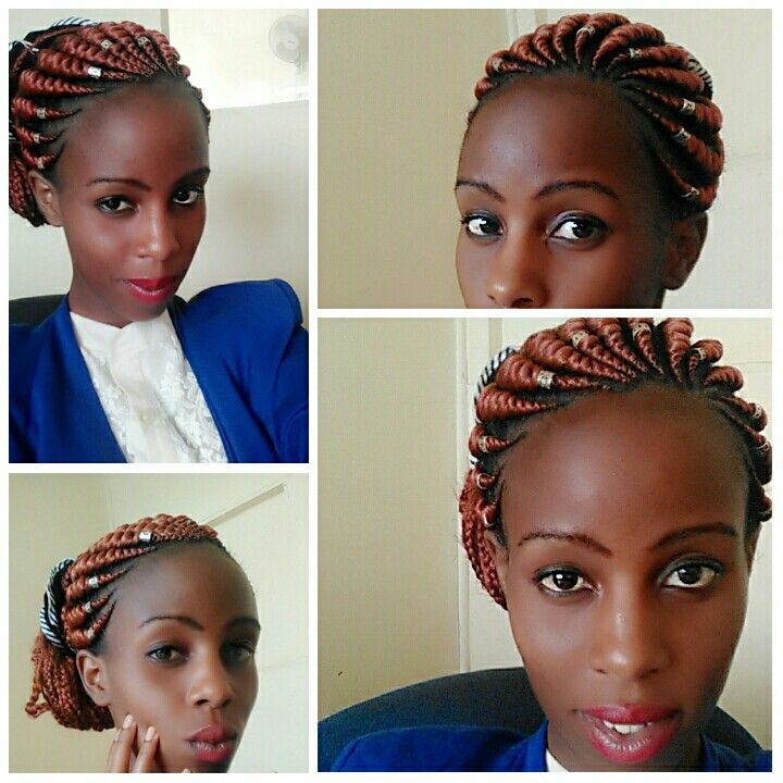 Nairobi Lines Cornrows Kenyan For Sure Its Plaited By Fixing Hair Braid Piece It Is Neatly Done And Comes In Hair Braid Pieces Braided Hairstyles Hair Styles