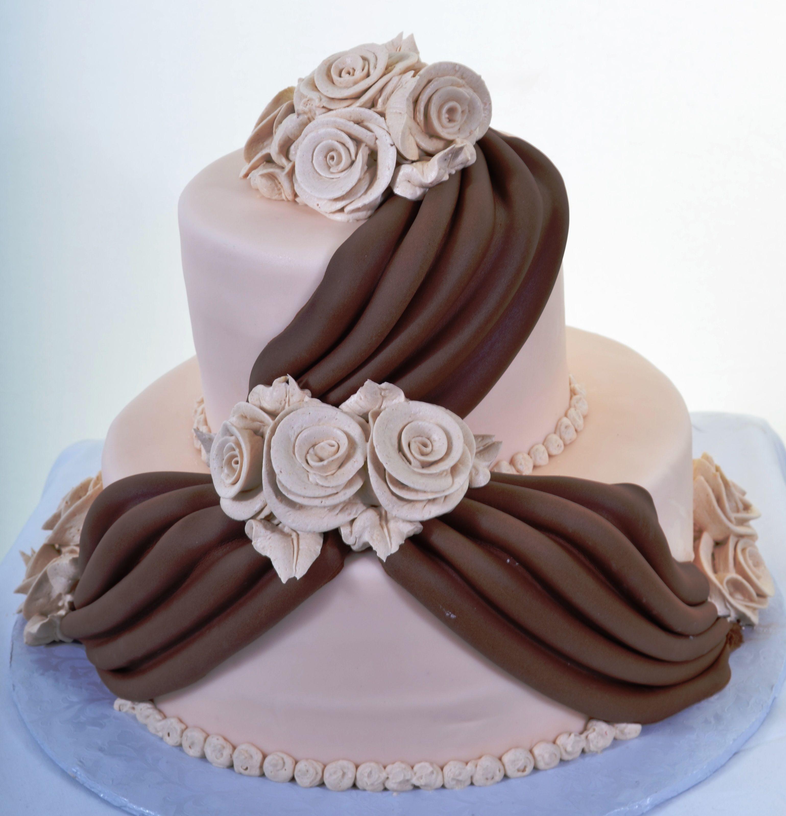 Pastry Palace Las Vegas Wedding Cake 921 Chocolate