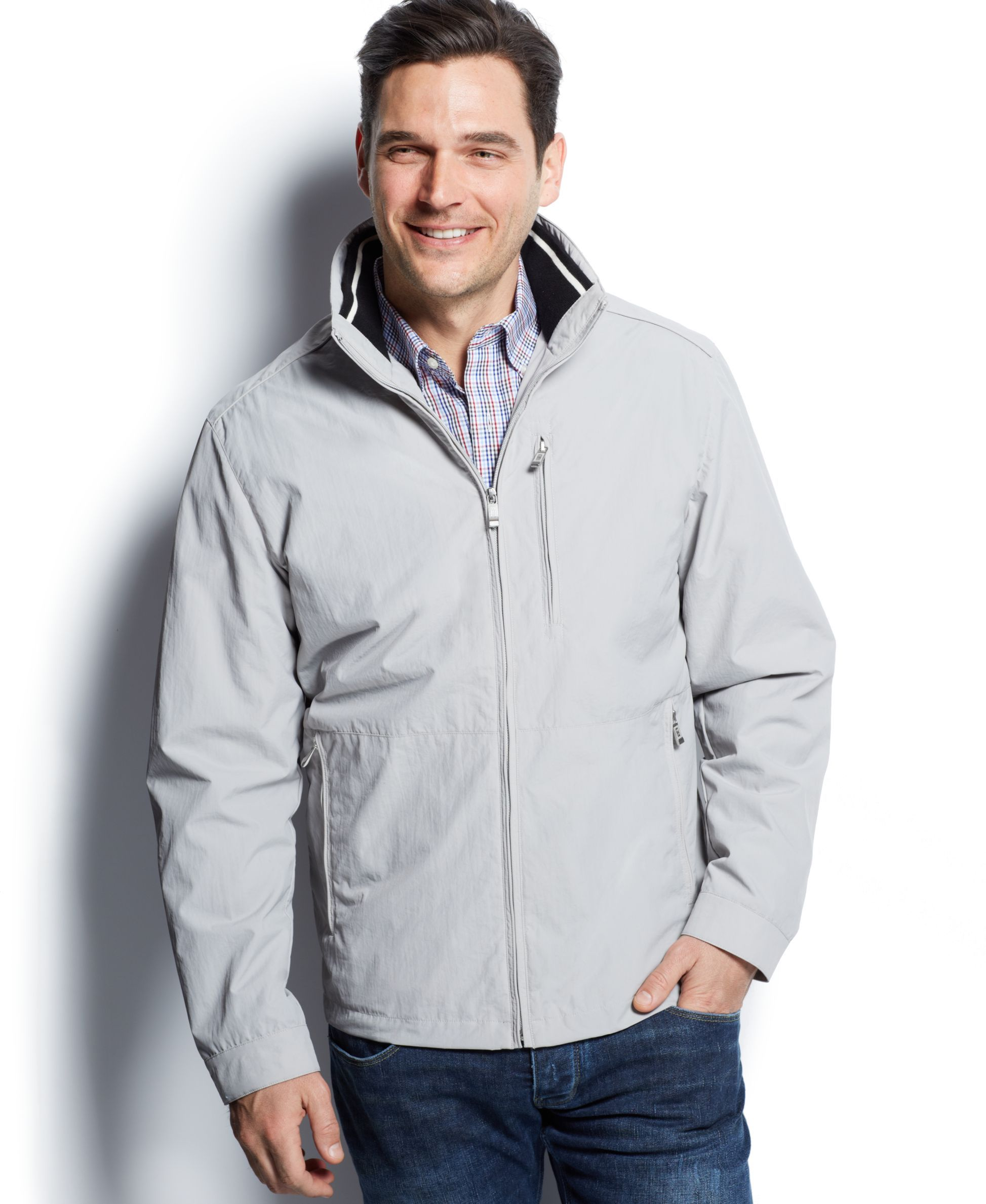 Weatherproof Heritage Golf Open Botton Jacket