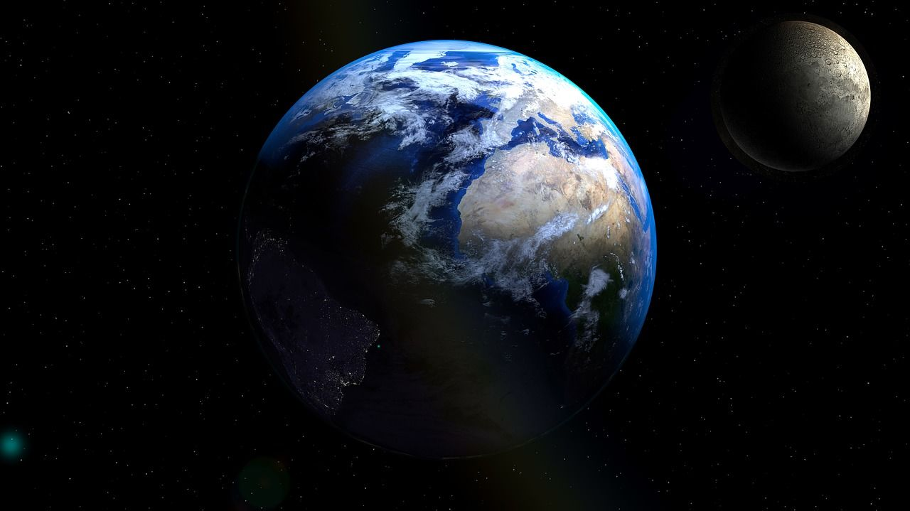 La Luna Nueva De Acuario 2017 Renovara Tu Energia Esto Es Lo Que Estabas Esperando Planetas Dia Del Planeta Tierra Continentes