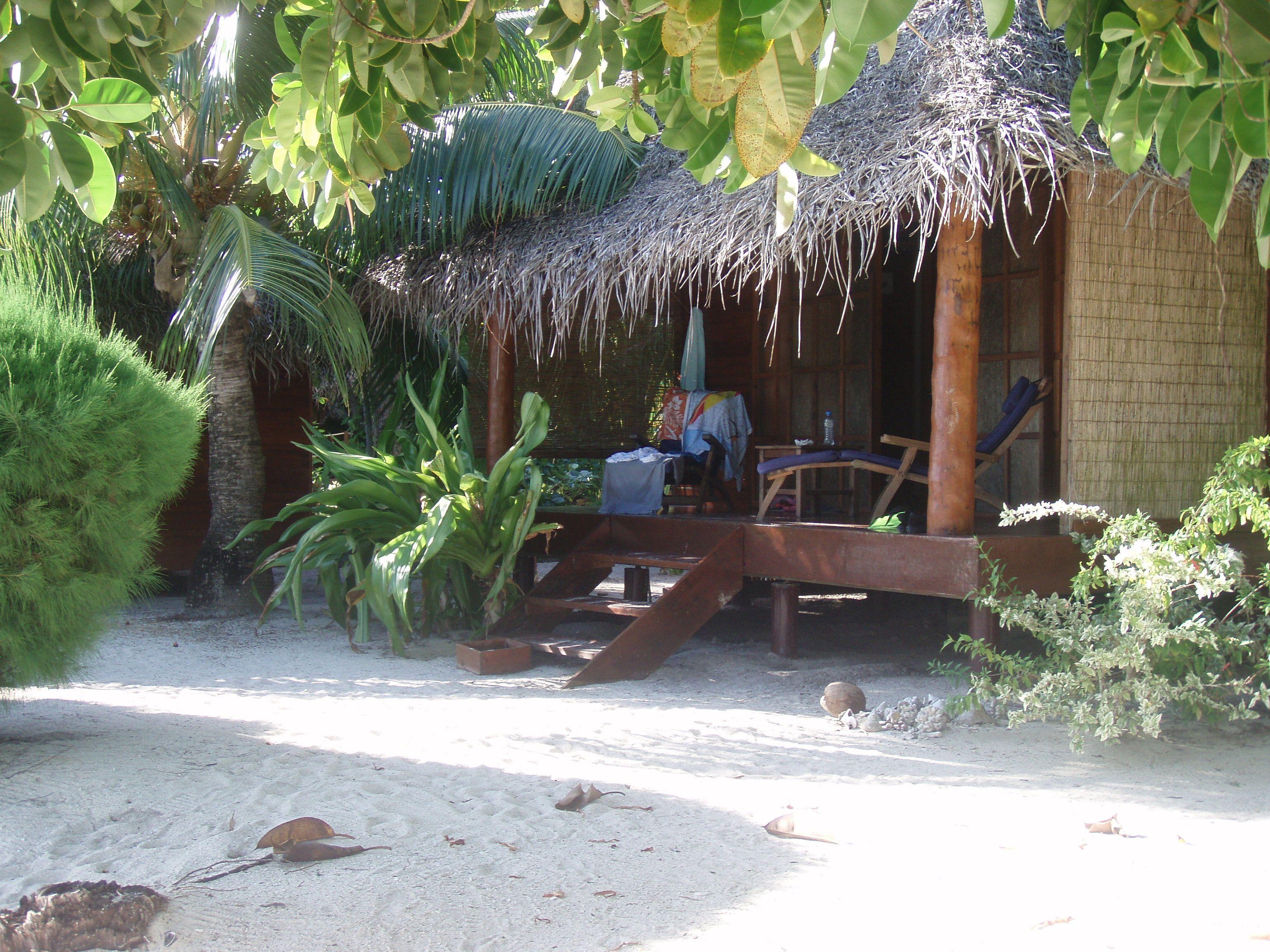 A fabulous Tahitian hut...an incredible hotel in Tahaa
