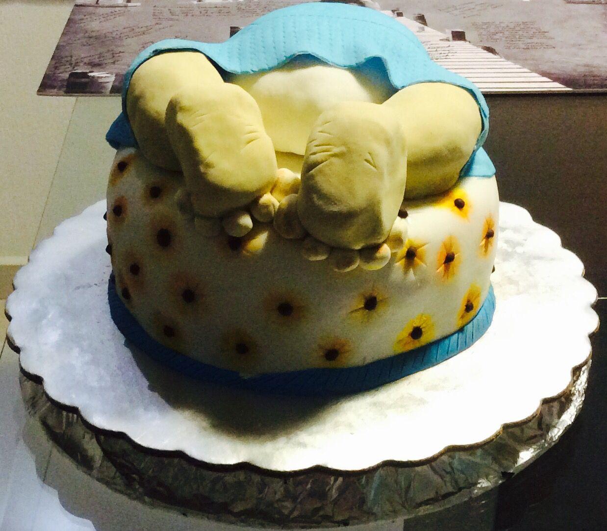 2da torta Gianluca para el baby shower