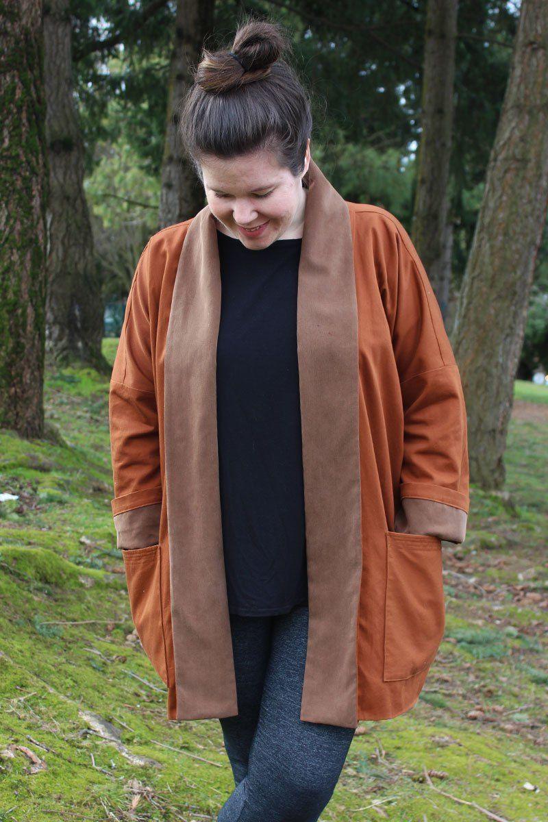 Wiksten Oversized Kimono Jacket | Pinterest | Kimono jacket, Kimonos ...