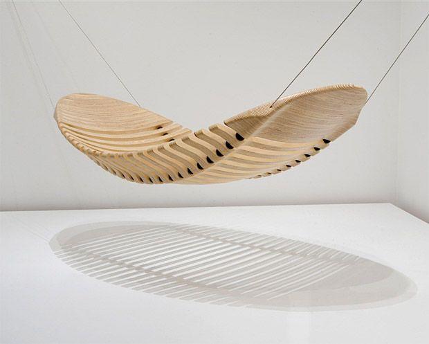 Adam Cornishu0027s Wooden Hammock The Progressive, Award Winning Designs Of  Australian Artist, Adam Cornish Straddle The Line Between Fine Art And  Furniture.