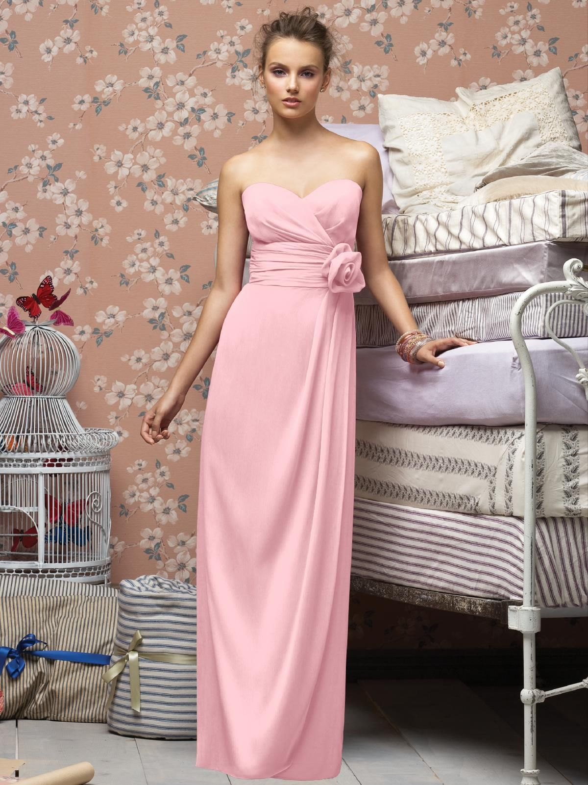 Lela Rose Bridesmaid Style LR234