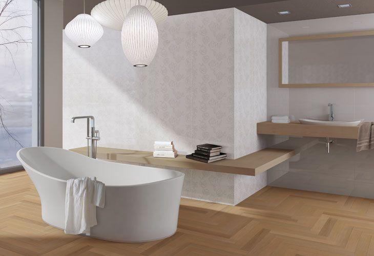 Iperceramica parquet listone rovere naturale progetti da provare pinterest bathroom queen - Bagno con parquet ...