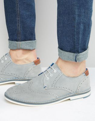 8ee71e737   Men   Ted Baker Jamfro Suede Brogue Shoes