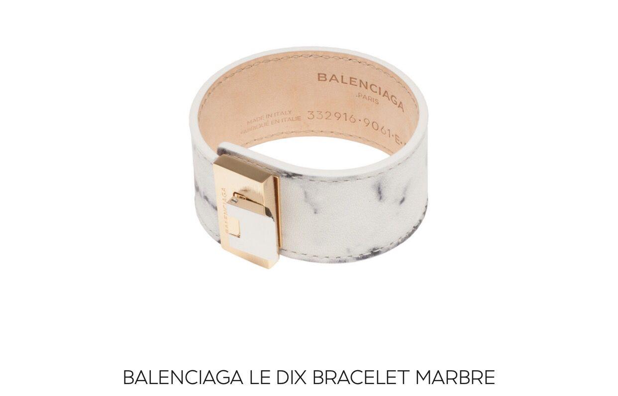 #balenciaga marble bracelet