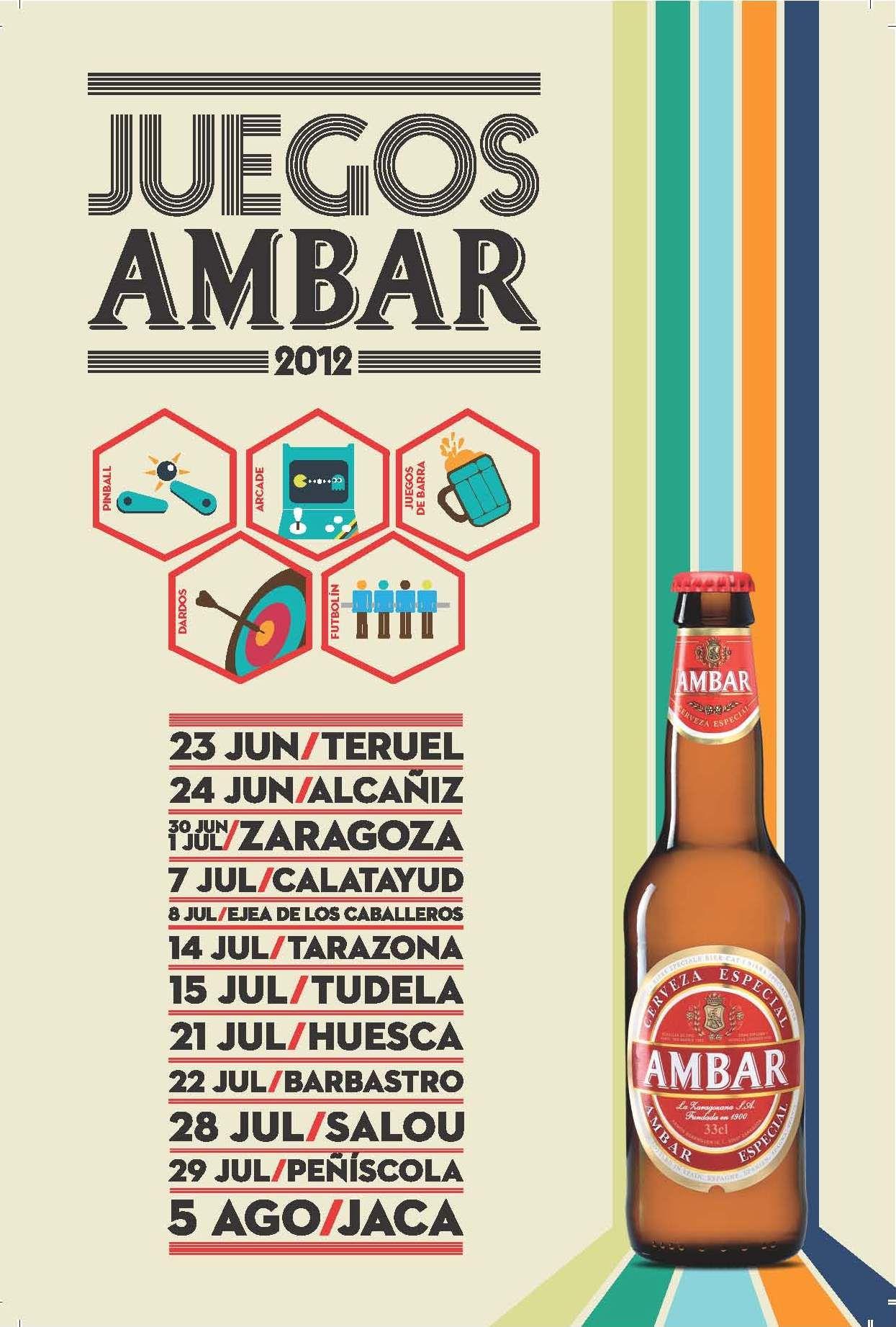 """Los #JuegosAmbar recorrerán numerosas localidades buscando a los mejores """"atletas de bar"""""""